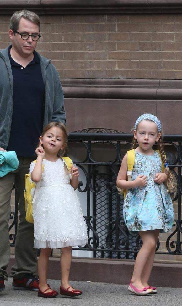 Sarah-Jessica- Parker-daughter-twins-2014-06