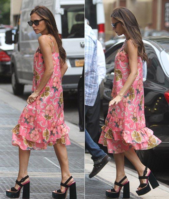 Victoria-Beckham-floral-dress-2014 -02