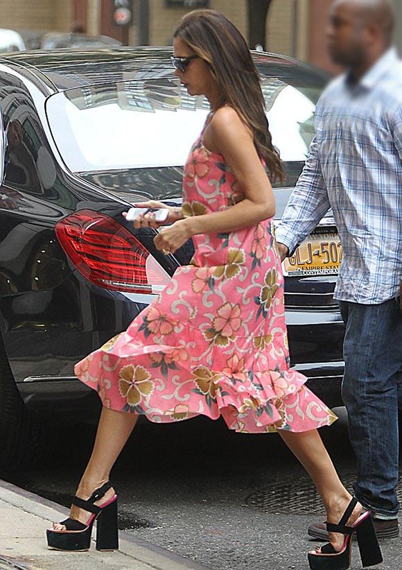 Victoria-Beckham-floral-dress-2014-03