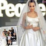 ブラッド・ピット&アンジェリーナ・ジョリー、結婚式の写真が公開!ドレスデザインに子供たちが参加!