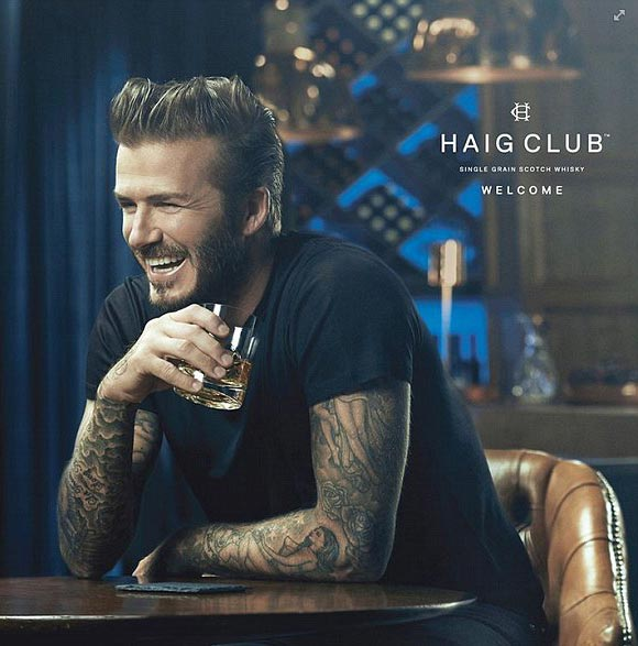 david-beckham-Haig-Club 2014
