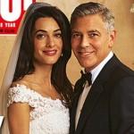 ジョージ・クルーニー&アマル・アラムディン、結婚式の写真が公開