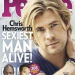 クリス・ヘムズワース、2014年最もセクシーな男性に!