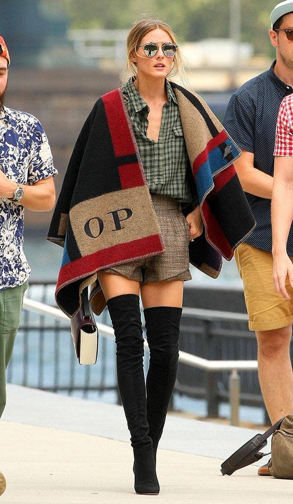 Olivia-Palermo-burberry-cape