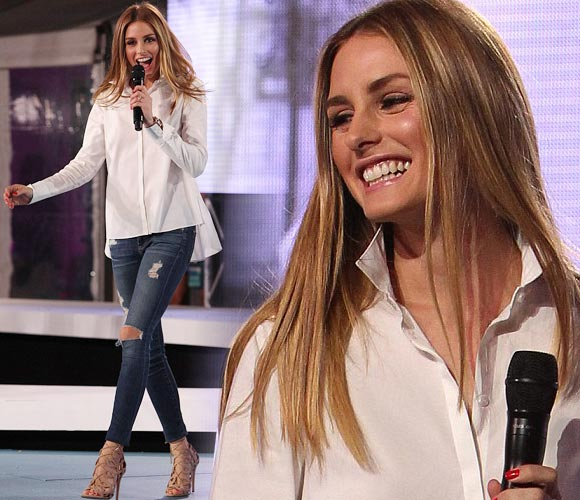 Olivia-Palermo-cottons-24-hour-runway-2014