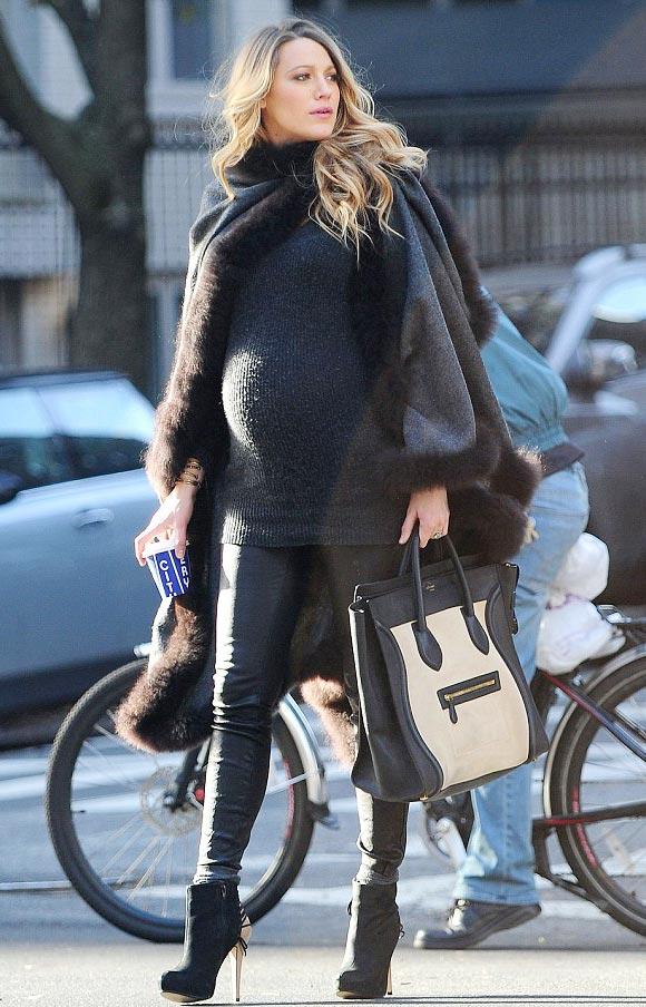 Blake-Lively-Baby-Bump-stylish-2014-01