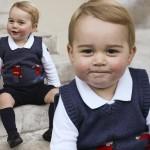 英王室がクリスマスを前にジョージ王子の最新写真を公開