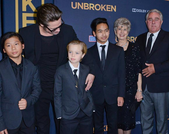 brad-pitt-family-unbroken-hollywood-premiere-2014-03