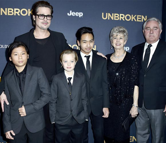 brad-pitt-family-unbroken-hollywood-premiere-2014