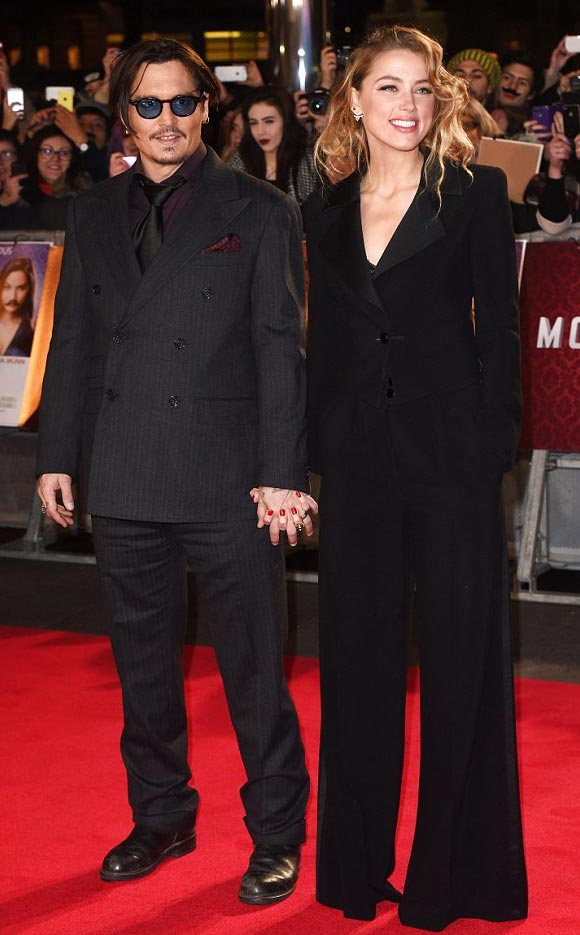 Johnny-Depp-Amber-Heard-uk-premiere-Mortdecai-2015-01