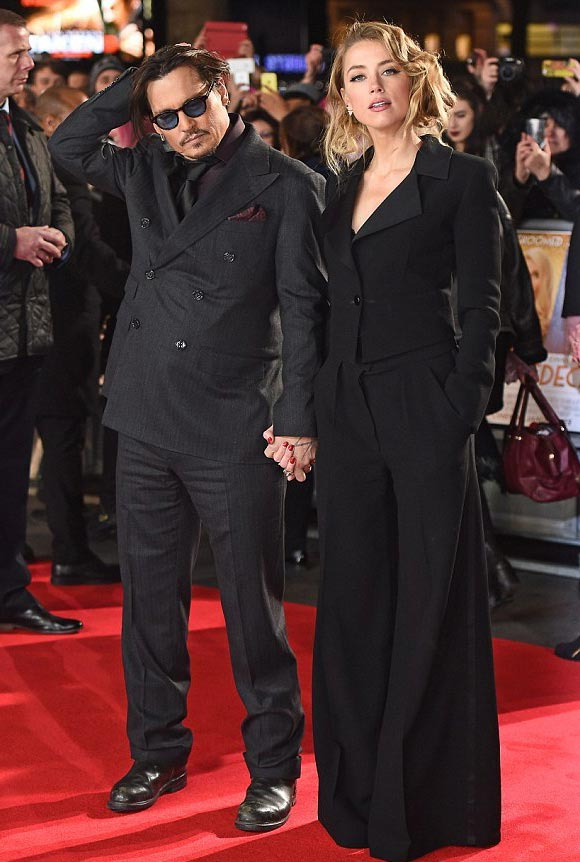 Johnny-Depp-Amber-Heard-uk-premiere-Mortdecai-2015-02
