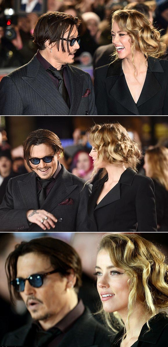 Johnny-Depp-Amber-Heard-uk-premiere-Mortdecai-2015-04