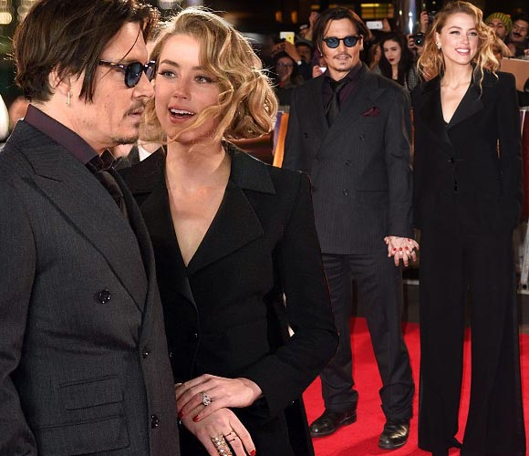 Johnny-Depp-Amber-Heard-uk-premiere-Mortdecai-2015
