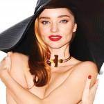 ミランダ・カー、ファッション誌でトップレスに!#ハーパース・バザー