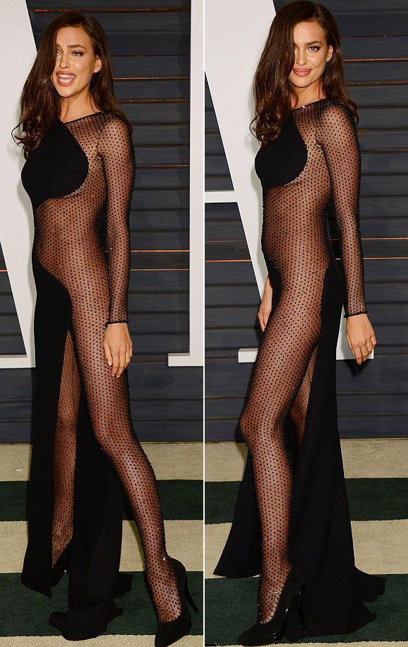 Irina-Shayk-sheer maxi-Oscars-2015-03