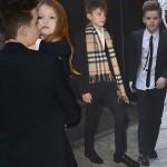 ベッカム家の子供たち、母親「ヴィクトリア・ベッカム」のファッションショーへ #NYFW