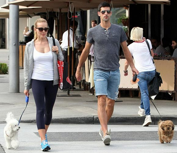 Novak-Djokovic and-wife-march-2015