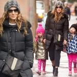 サラ・ジェシカ・パーカー、双子の娘ちゃんと登校へ