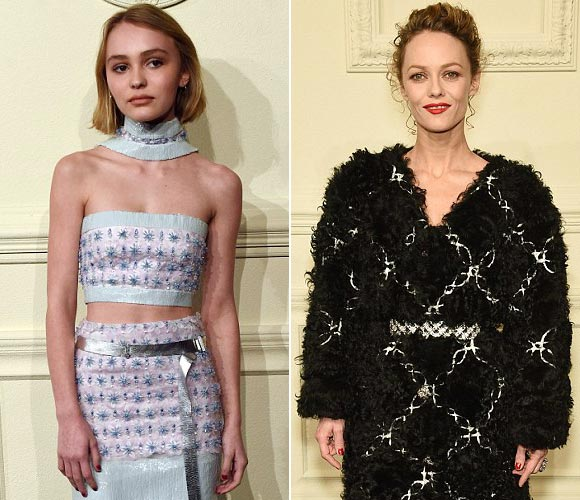 Lily-Rose-Depp-Vanessa-Paradis-march-2015