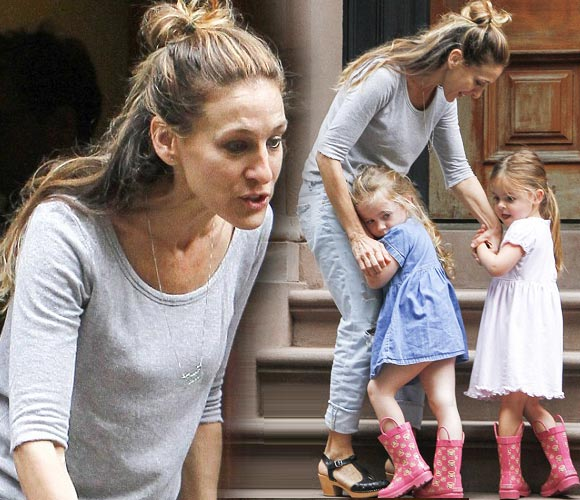 Sarah-Jessica-Parker-twin-daughters-april-2015