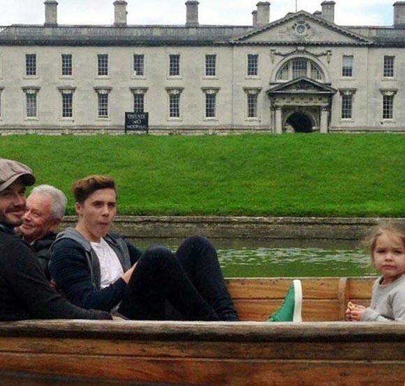 Harper-Seven Beckham- Family-may-2015