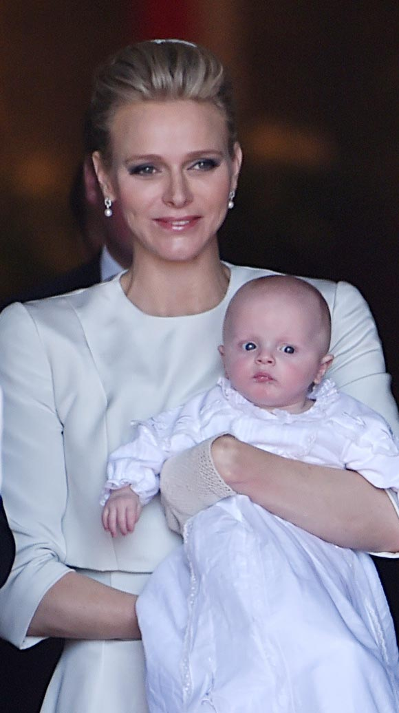 Prince-Albert-Princess-Charlene-christen-twins-2015-04