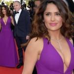 サルマ・ハエック、華麗なる逆転人生!億万長者の夫とレッドカーペットに登場!#カンヌ映画祭