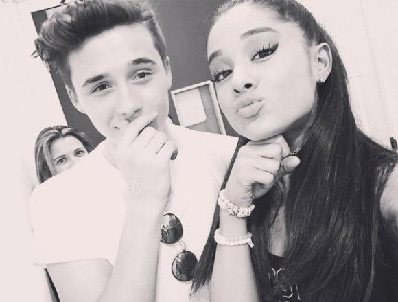 Brooklyn-Beckham-instargram-Ariana-Grande-june-2015