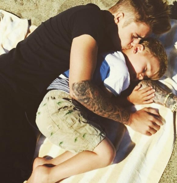 Justin-Bieber-Brother-Jaxon-instagram-2015-02