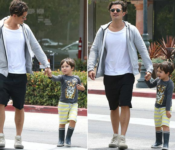 Orlando-Bloom-son-Flynn-june-2015