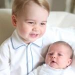 英・シャーロット王女と兄ジョージ王子の2ショット写真初公開 #最新