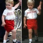 ジョージ王子、30年前のパパとそっくりファッション姿で登場!#最新 #かわいい #服