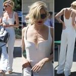 シエナ・ミラー、ウィンブルドンといえば白!白いシャンプスーツで登場! #私服 #ショート