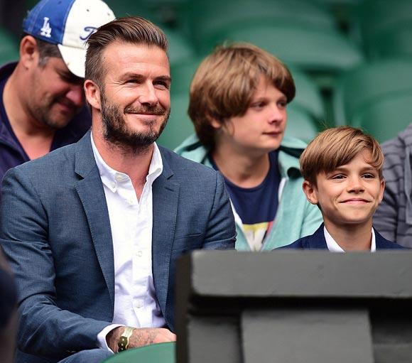 david-beckham-romeo-Wimbledon-2015-01