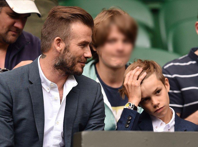david-beckham-romeo-Wimbledon-2015-02