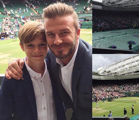 david-beckham-romeo-Wimbledon-2015