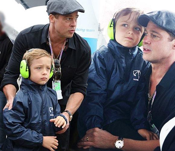 Brad-Pitt-Knox-motoGP-British-2015