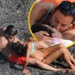 イリーナ・シェイク、恋人ブラッドリー・クーパーとビーチで熱々キス!