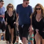 マライア・キャリー、大富豪の恋人とビーチデート