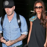 デビッド・ベッカム、LAX空港に到着!妻ヴィクトリアがお出迎え #ファッション #私服