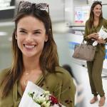 アレッサンドラ・アンブロジオ来日、成田空港にヴィクシーのエンジェルが登場!#私服