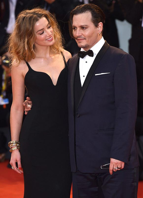 Johnny-Depp- Amber-Heard-premiere-Black Mass-2015-02