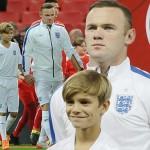 ベッカム次男のロメオ君、イングランド代表チームのマスコットボーイに選出!
