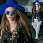 カーラ・デルヴィーニュ、お洒落上級者の空港ファッション #私服