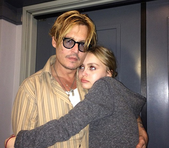 Johnny-depp-lily-rose-instagram-2015