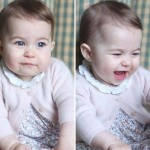 【最新写真】シャーロット王女、誕生6ヶ月の写真公開!兄のジョージ王子とそっくり!