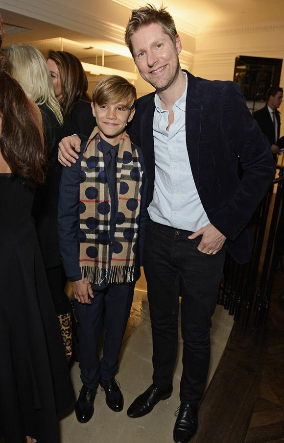 Romeo-beckham-Christopher-Bailey-burberry-campaign-2015