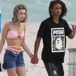 ウィル・スミスの息子ジェイデン17歳、セクシーなビキニ姿の彼女と手をつないでビーチへ #現在