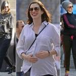 妊娠中のアン・ハサウェイ、マタニティファッション