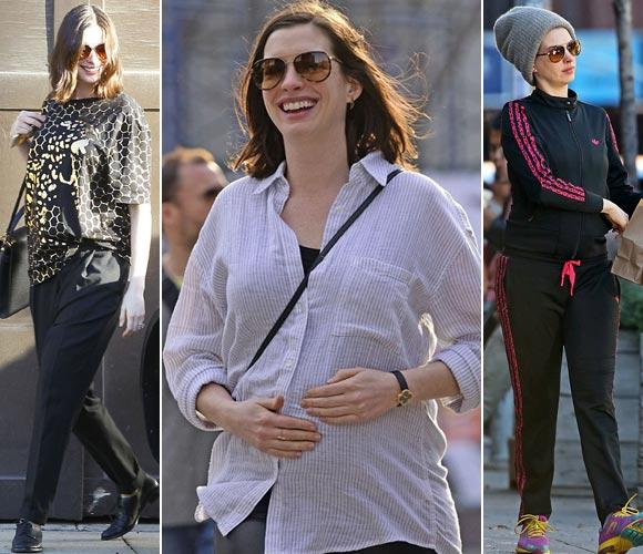 Pregnant-Anne-Hathaway-fashion-2015